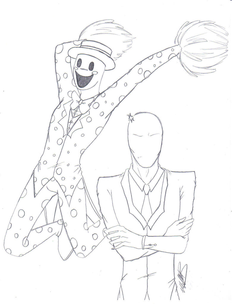 It's just an image of Exceptional Creepypasta Coloring Pages