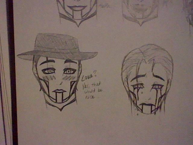 More Faces of The Spine-Steam Powered Giraffe by GhostAsylum