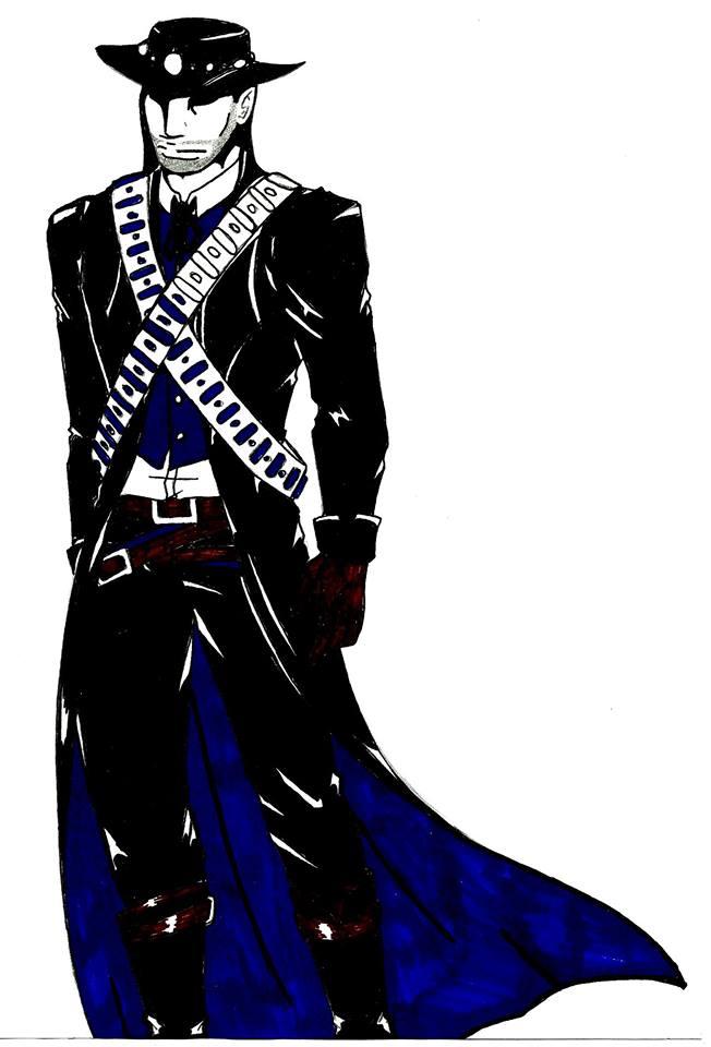 The Black Rider by GhostAsylum