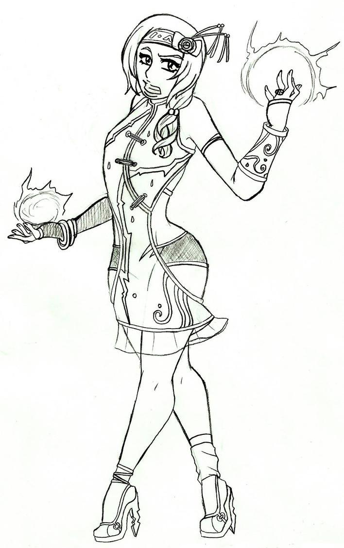 MK OC-Thane by GhostAsylum