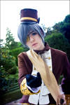 Ciel:.Welcome to Phantomive mansion. by Yuiie