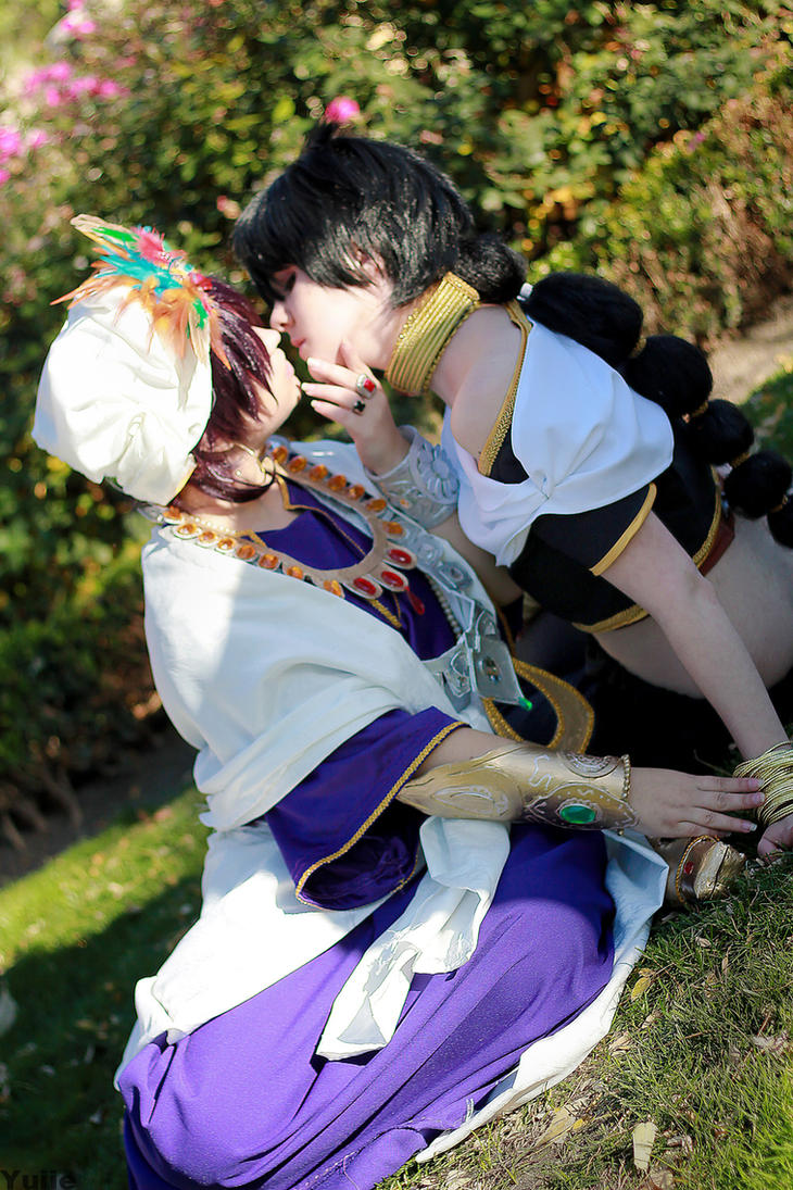 MAGI:. Judal and Sinbad by Yuiie