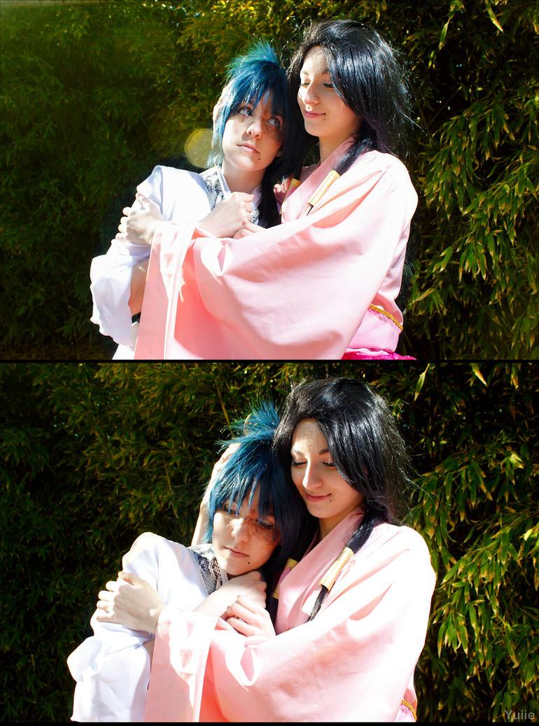 I'll protect you, Hakuryuu. by Yuiie