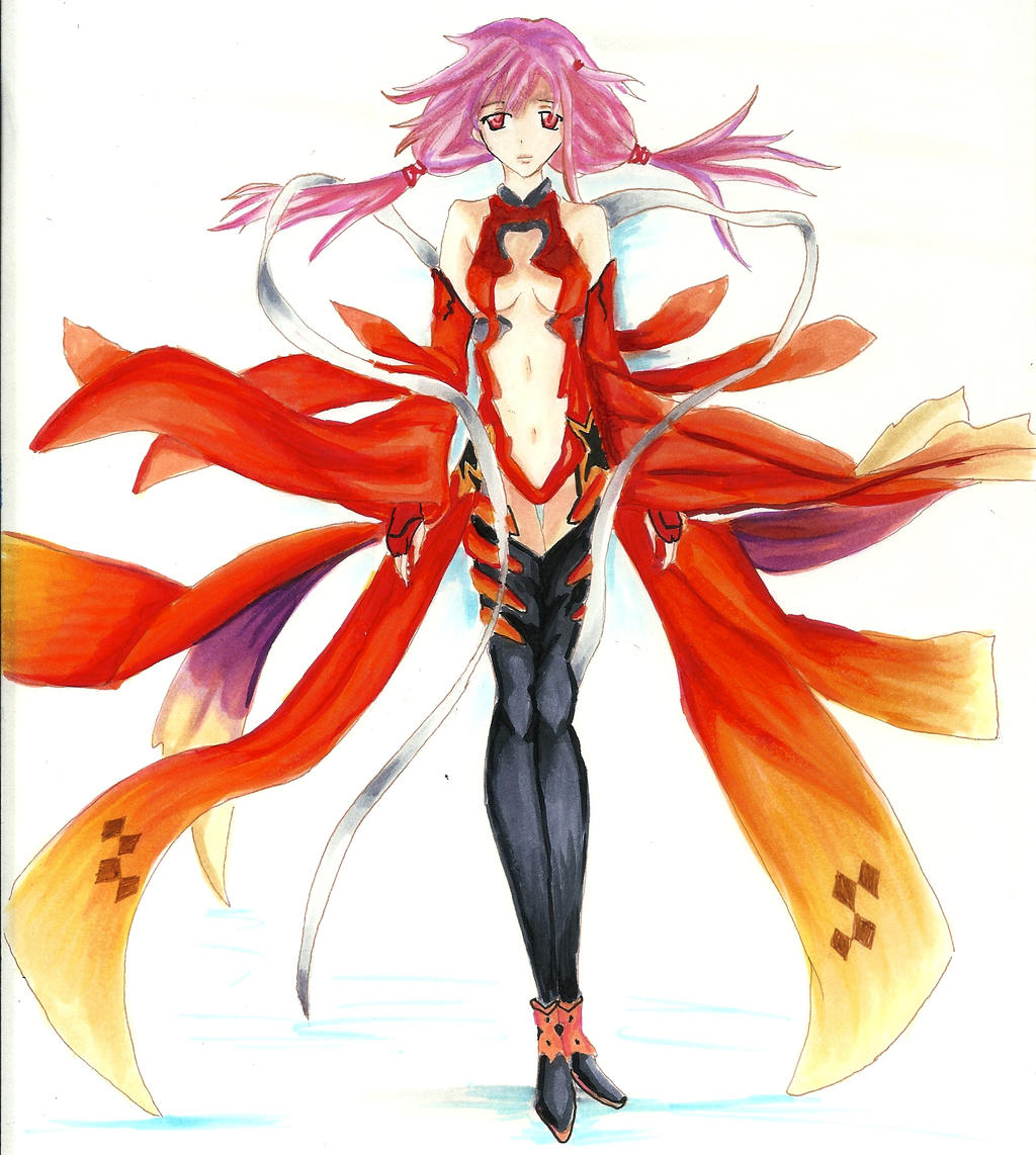 guilty crown inori yuzuriha by tomgirl227 on deviantart