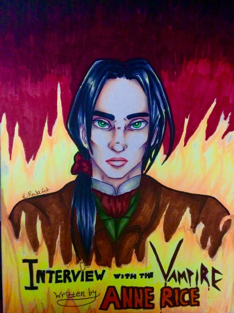 Vampire Book Cover Art ~ Interview with the vampire book cover by tomgirl on