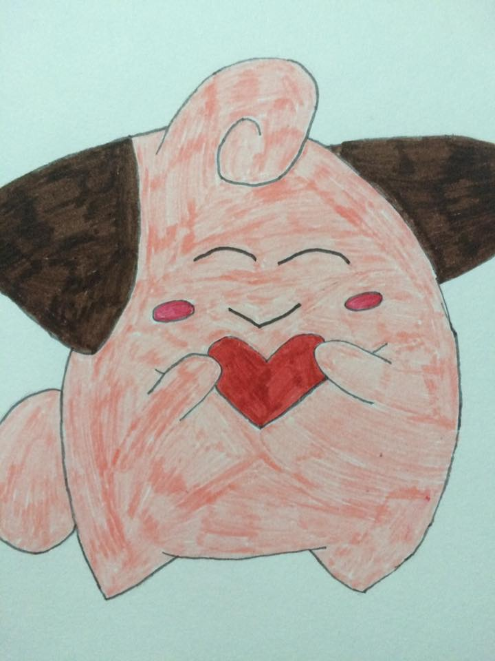 Cleffa's Valentine by XSlightlySaneX