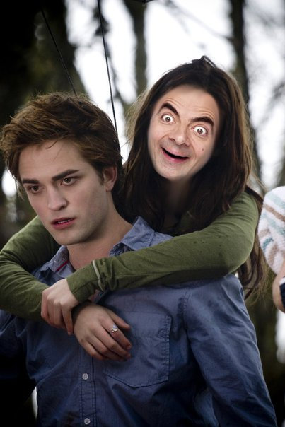 Edward Cullen and... Mr. Bean? by Sawatari213