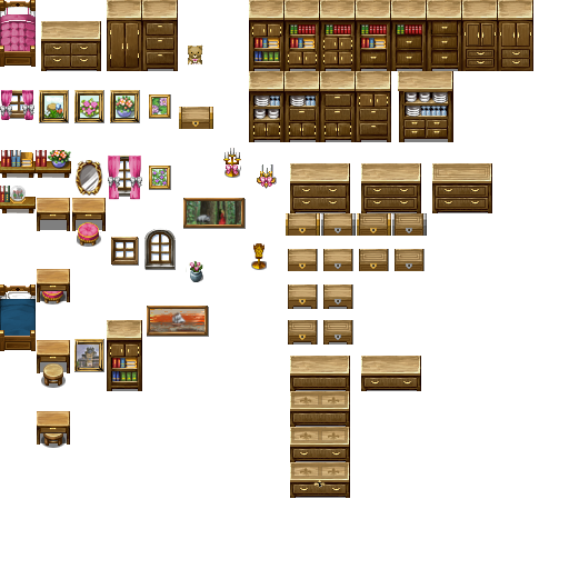 Room Decor Sprites