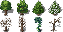 2011 Trees by L0velyBlue