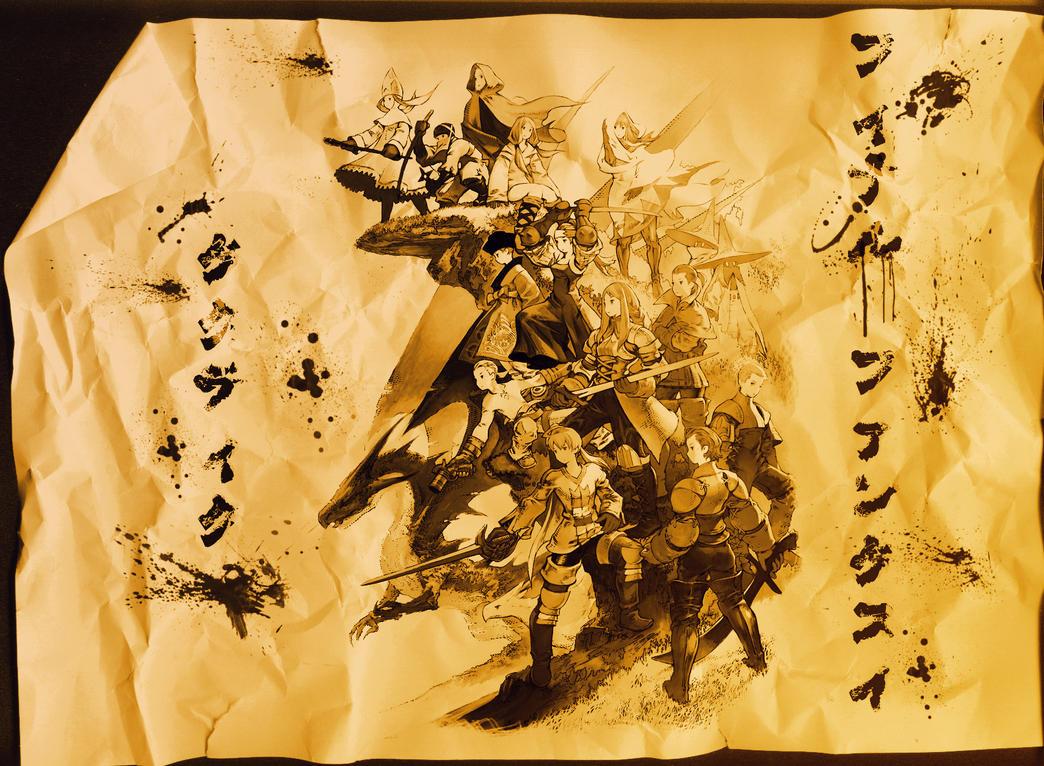 Final Fantasy Tactics by Nagiart on DeviantArt