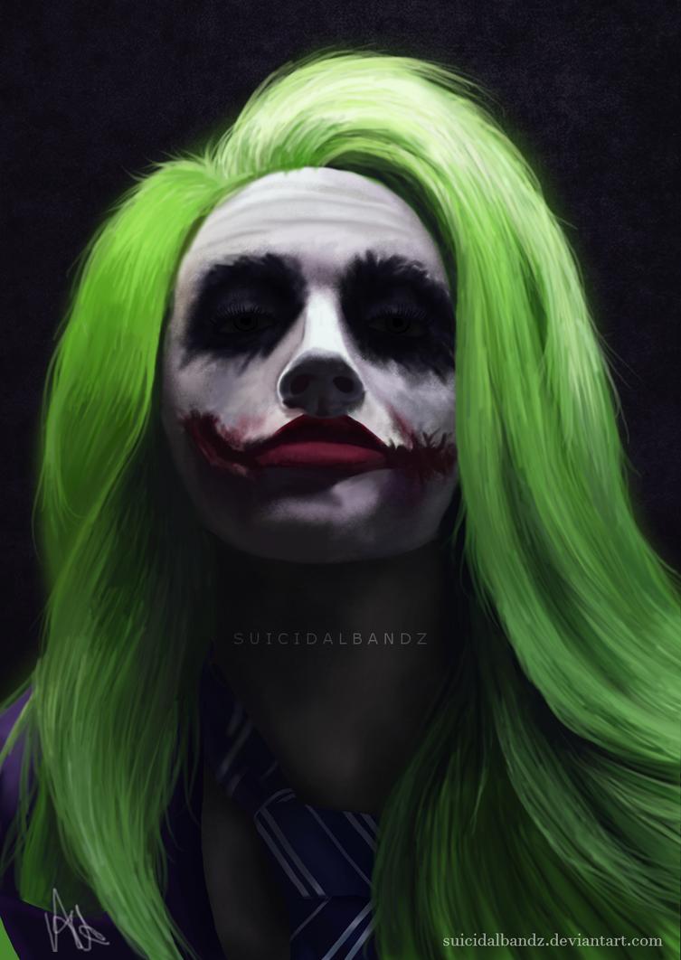Joker - Mykie/Glam And Gore by suicidalbandz