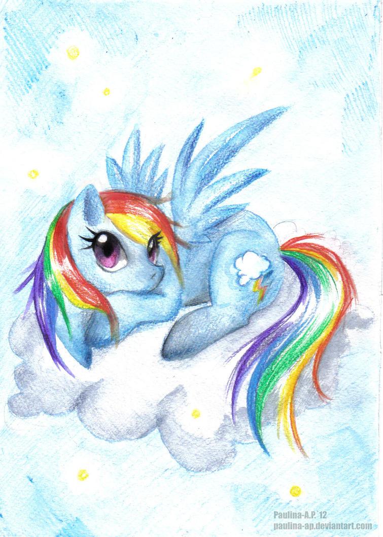 Rainbow Dash by Paulina-AP