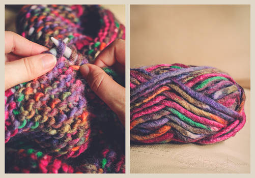 Colourful Knitting