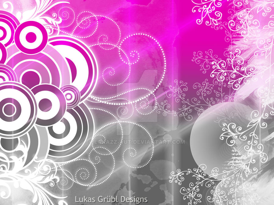 Wallpaper grey pink by lukazz aut on deviantart for Red and grey wallpaper