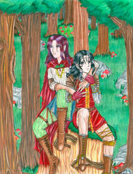 Two Brothers by KazeKasai