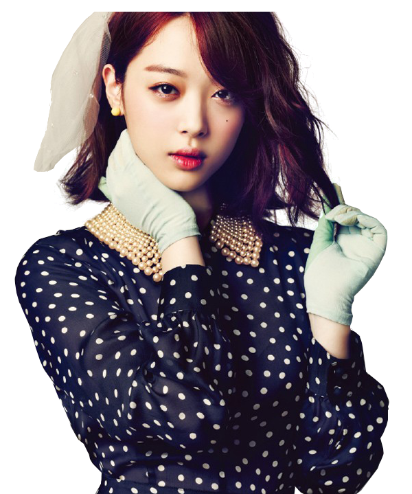 PNG#3: Sulli F(x) Render by CatbeYOLO