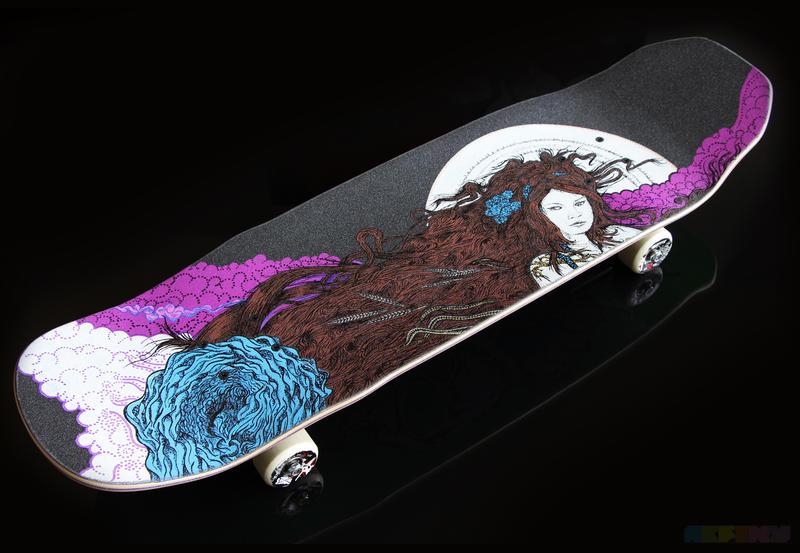 Skateboard Griptape by AlejandroFiny