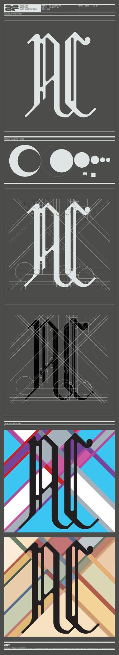 AC Illustrator Logotype V.1.0 by AlejandroFiny