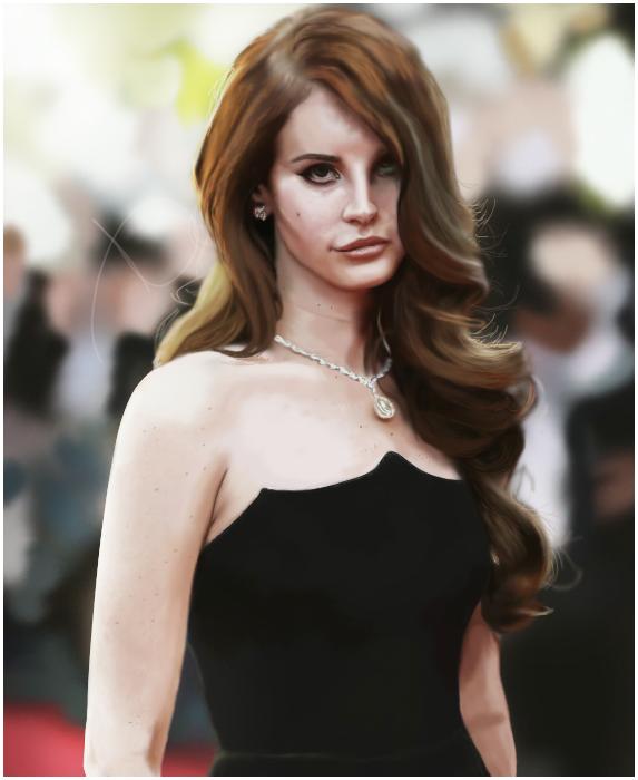 Lana Del Rey by wherethewildeoneslie
