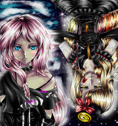 IA and MAYU ~Thanks for 350+ by naftie