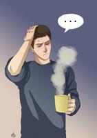 Supernatural - got a cold by RennySkywalker