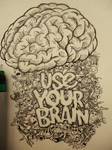 Use Your Brain Doodle