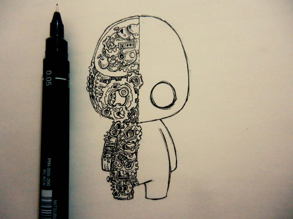 My Little Robot by naldojunio