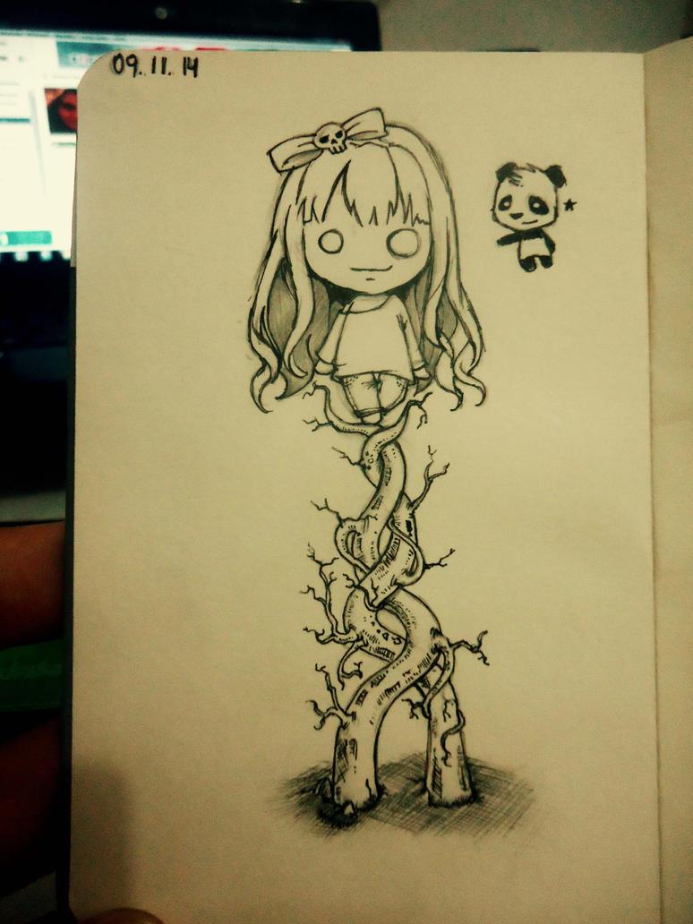 Daily Sketch #1 by naldojunio