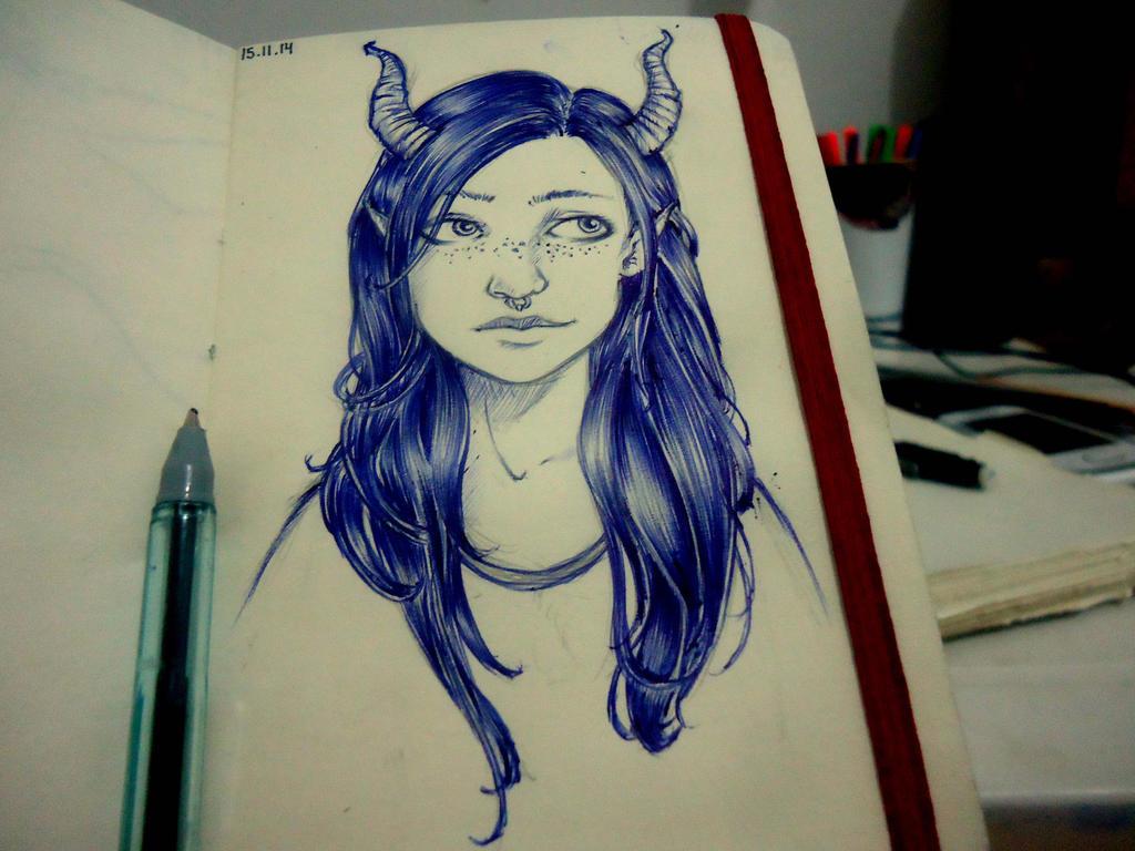 Daily Sketch #7 by naldojunio
