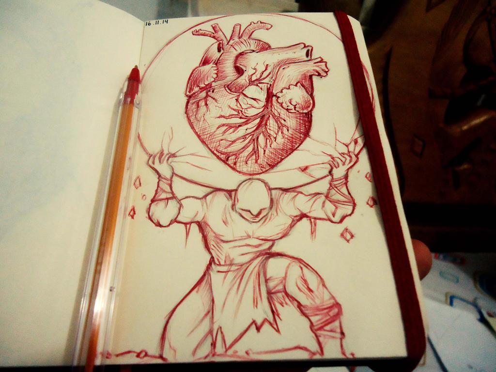 Daily Sketch #8 by naldojunio