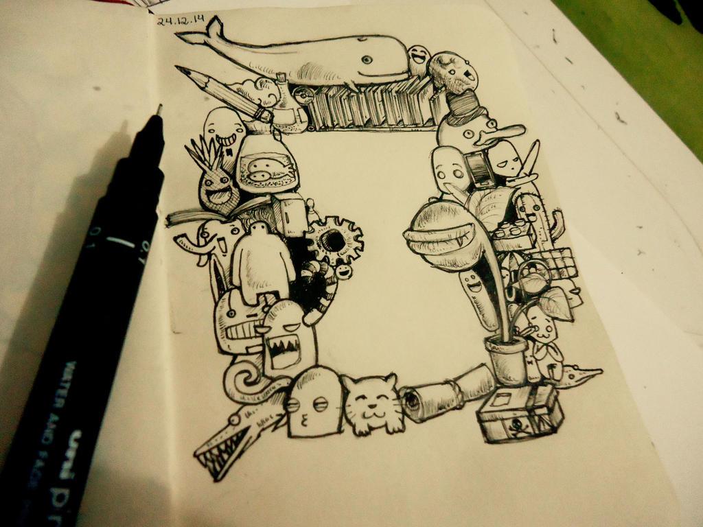 Doodle Day #1 by naldojunio