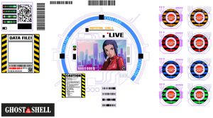 Ghost In The Shell Window HUD Layout A 1