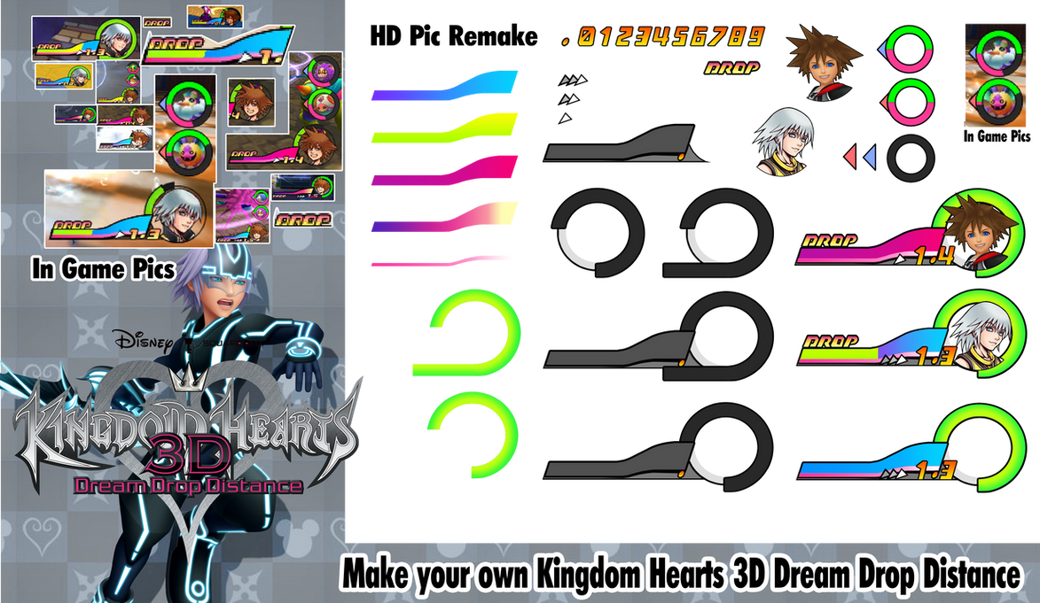 Make your own kingdom hearts 3d dream drop distanc by for Build your own net dream