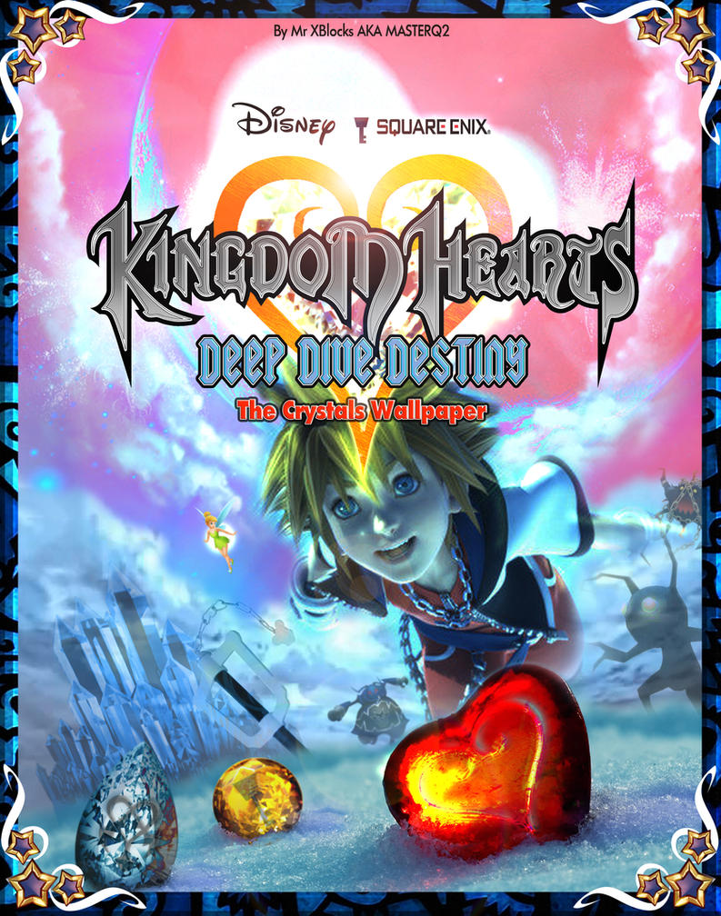 Kingdom hearts deep dive destiny cover by masterq2 on - Kingdom hearts deep dive ...