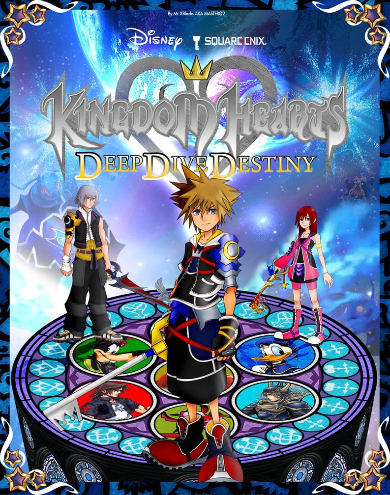 Kingdom hearts deep dive destiny cover by masterq2 on - Kingdom hearts deep dive ...