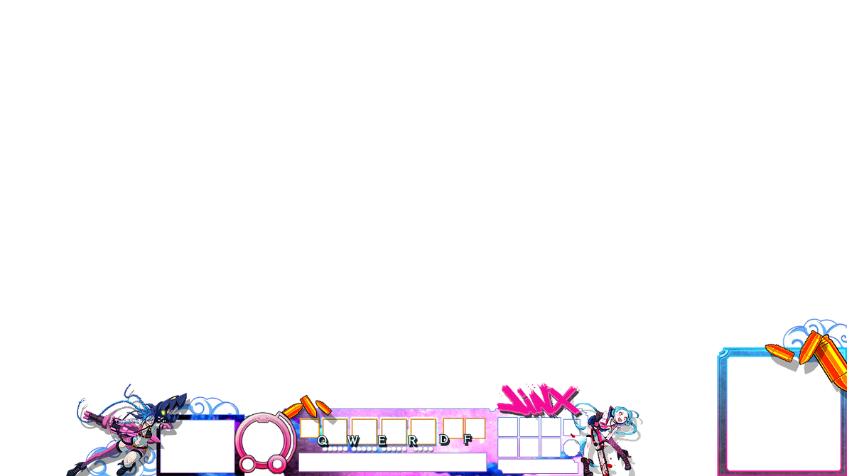 league of legends twitch Overlay 1280x720 by MASTERQ2