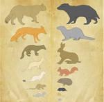 Redwall Creatures