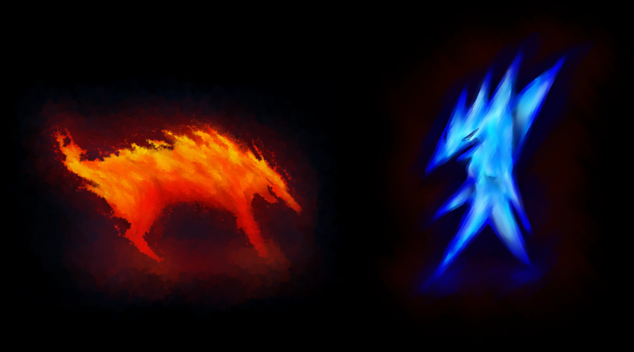 fire and ice by Benalene