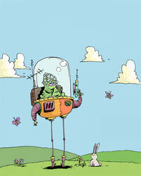 alien by mrdynamite
