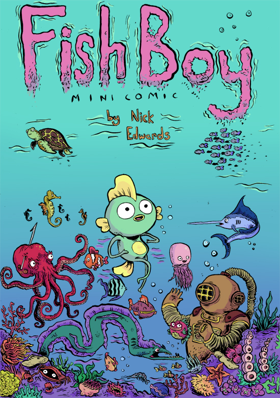 fishboymini FRONT by mrdynamite
