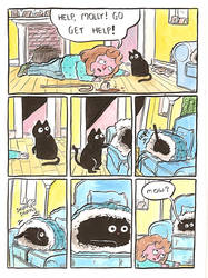 cat rescue by mrdynamite
