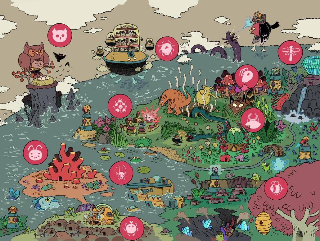 beetle map by mrdynamite