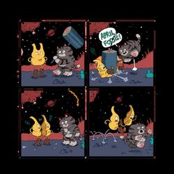 hammer cat space