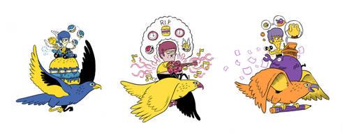 triple hawk by mrdynamite