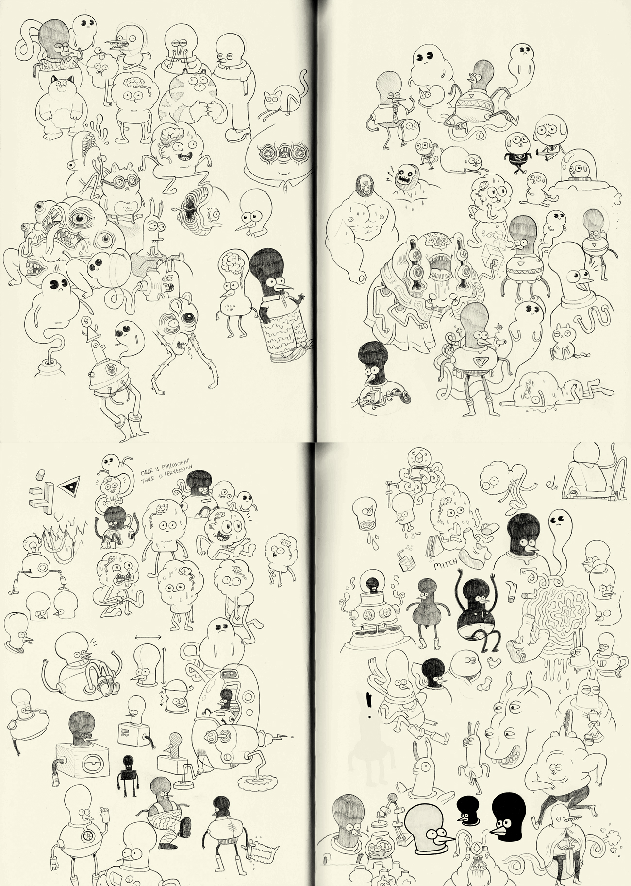 sketchbook workings by mrdynamite