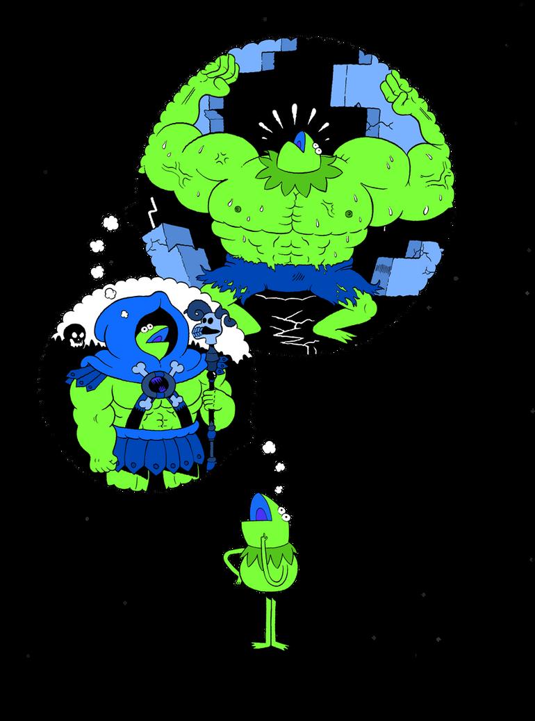 Kermit Dreams by mrdynamite