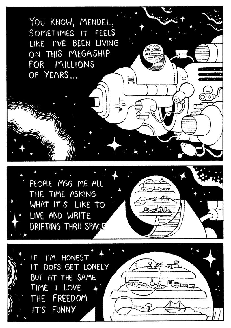 Spacehorror by mrdynamite