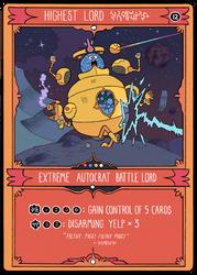 Extreme Autocrat Battle Lord by mrdynamite