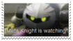 Meta Knight is Watching Stamp by FrostFlurry92