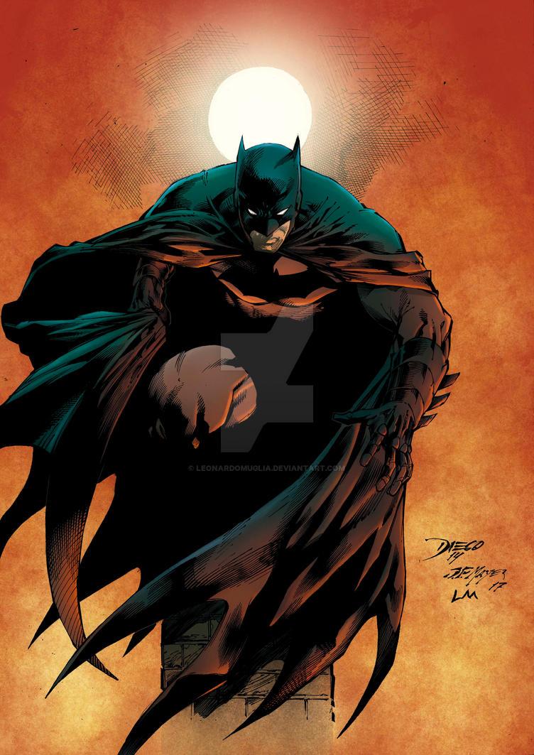 Batman - Color art by Leonardo Muglia by Leonardomuglia